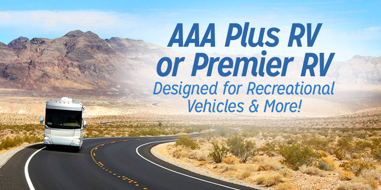 Recreational Vehicle Insurance and AAA Memberships