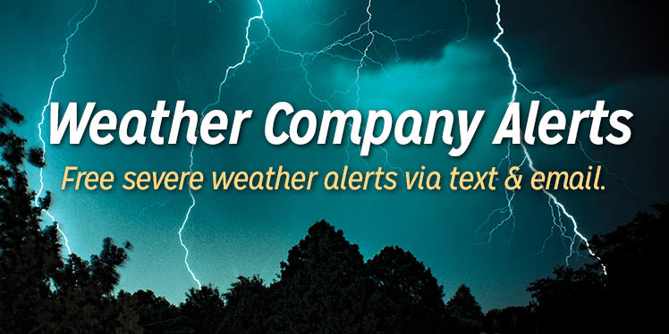Weather Company Alerts Provides AAA Members With Severe Weather Alerts Via Email And SMS TXT